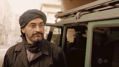 Navid Negahban on Homeland