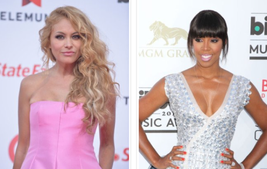 Paulina Rubio and Kelly Rowland