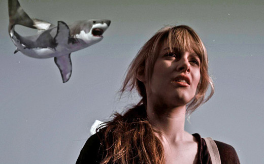 Aubrey Peeples in Sharknado