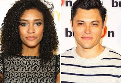 Blair Redford and Annie Ilonzeh Pic