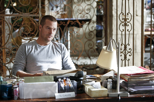 Callen at His Desk