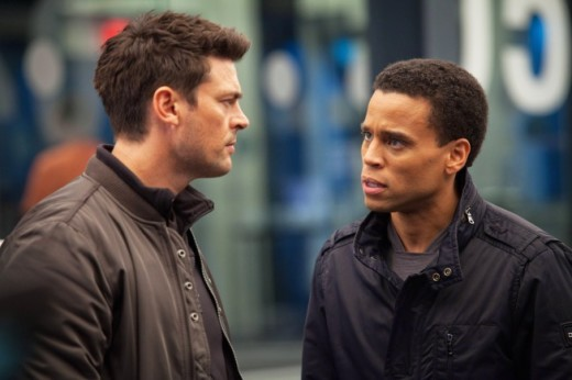 Karl Urban, Michael Ealy photo