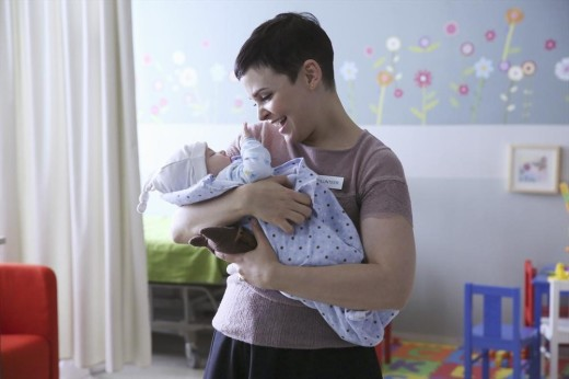 Mary Margaret & Baby Henry