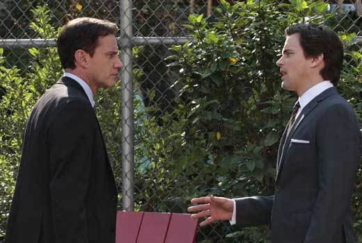White Collar Winter Finale Scene