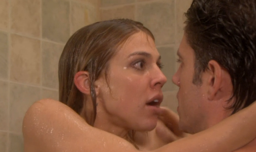 EJ and Abby in the Shower
