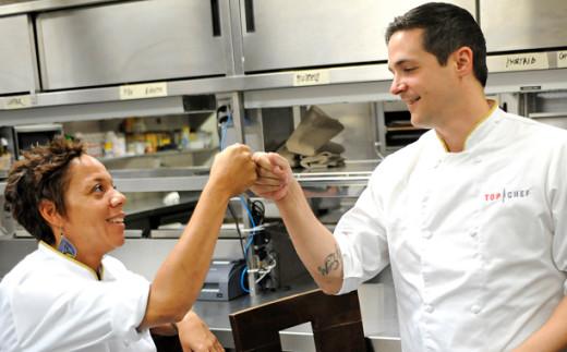 Nicholas and Nina on Top Chef