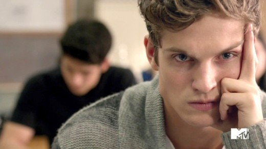 Daniel Sharman on Teen Wolf
