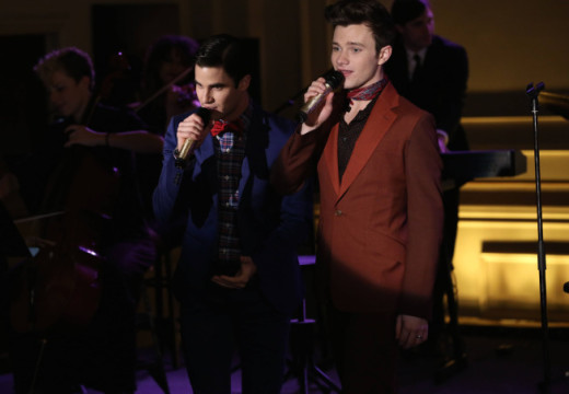 Kurt and Blaine in New York
