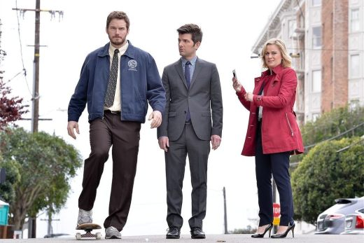 Parks and Recreation Finale Scene
