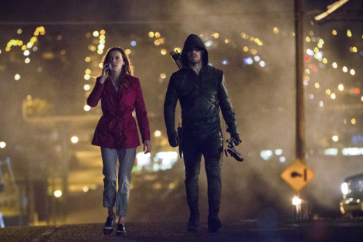 Laurel and the Arrow on the Streets of Fire
