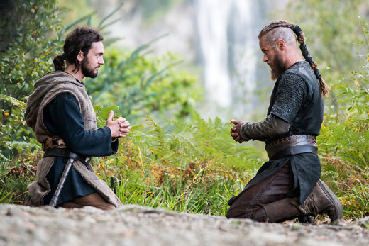 Athelstan and Ragnar's unique friendship