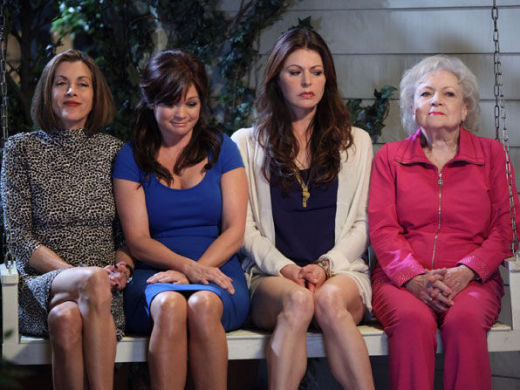 Hot in Cleveland Cast Pic