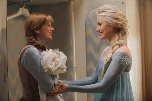Frozen Sisters - Once Upon a Time Season 4 Episode 1