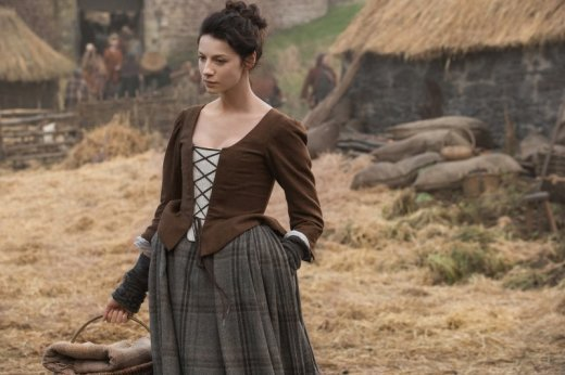 Claire at the Castle - Outlander