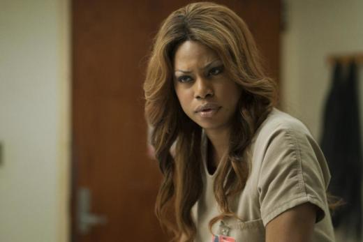 Laverne Cox on Orange is the New Black