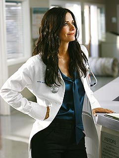 Courteney Cox as Dr. Maddox