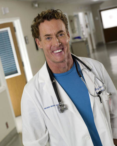 John C. McGinley as Dr. Cox