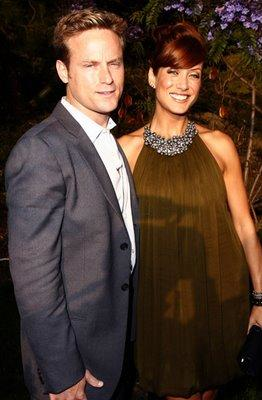 Kate Walsh and Fiance Alex Young