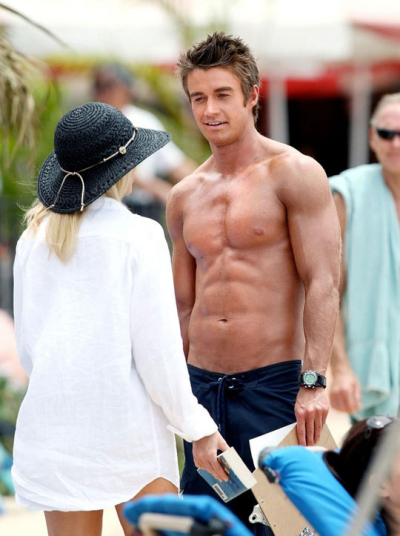Robert Buckley and Heather Locklear