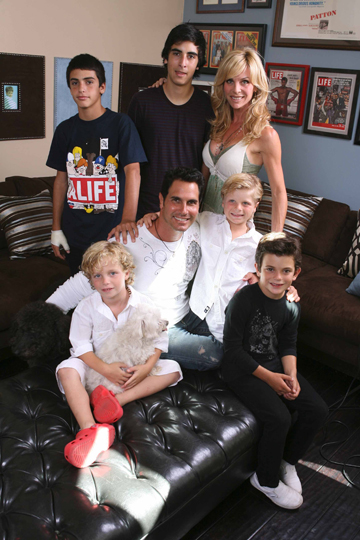 Don Diamont and His Family