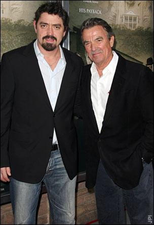 Eric Braeden and Son