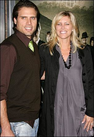 Joshua Morrow and Wife