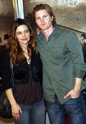 Amelia Heinle and Thad Luckinbill