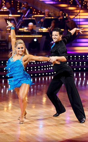 Shawn Johnson and Mark Ballas