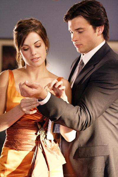 Clark and Lois Photo