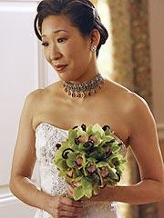 Cristina Yang On Her Wedding Day