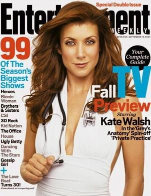 Kate Walsh in Entertainment Weekly