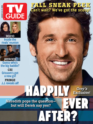 Patrick Dempsey in TV Guide Again!