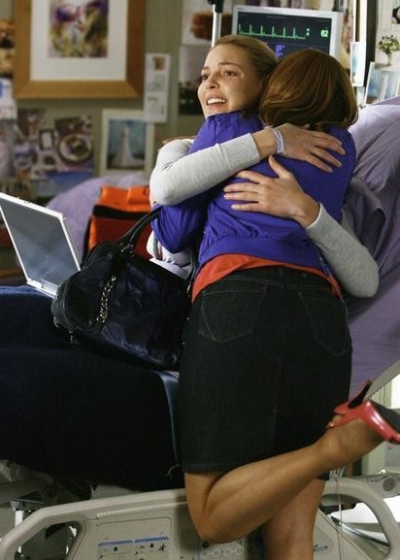 Izzie and Her Mom