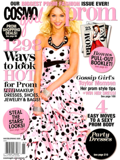 CosmoGirl Prom Cover Girl!