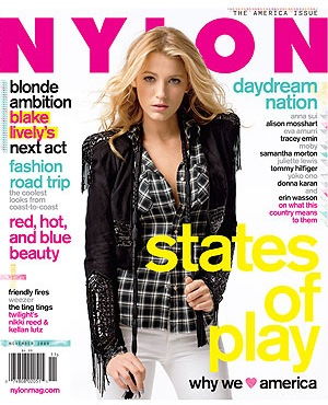 Blake Lively in Nylon