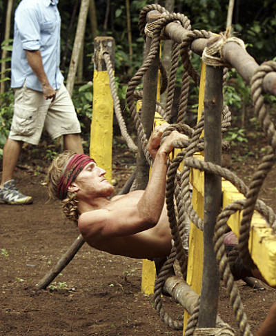 Tyson Competes in the Challenge