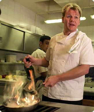 Gordon Ramsay in Action