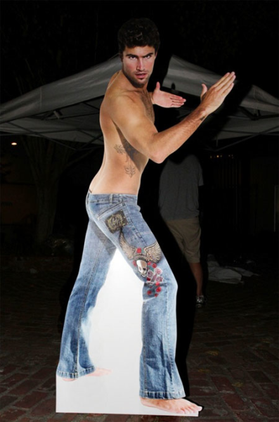 Brody Jenner Shirtless (Cutout)