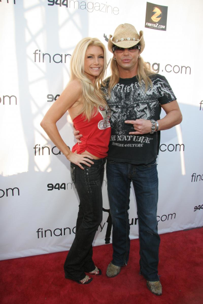 Brande Roderick and Bret Michaels