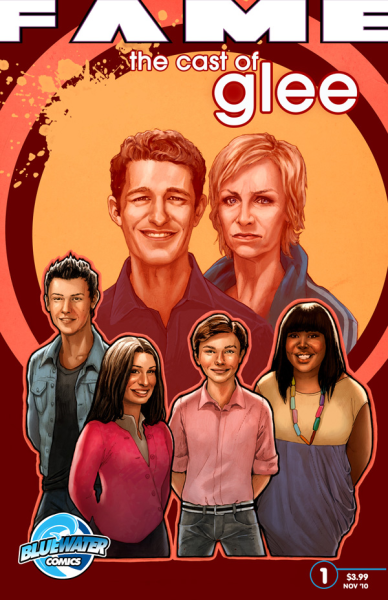 Glee Comic Book