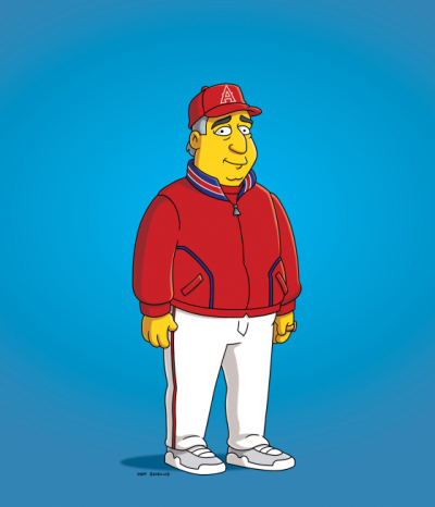 Mike Scioscia on The Simpsons