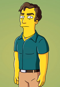 Hugh Laurie on The Simpsons