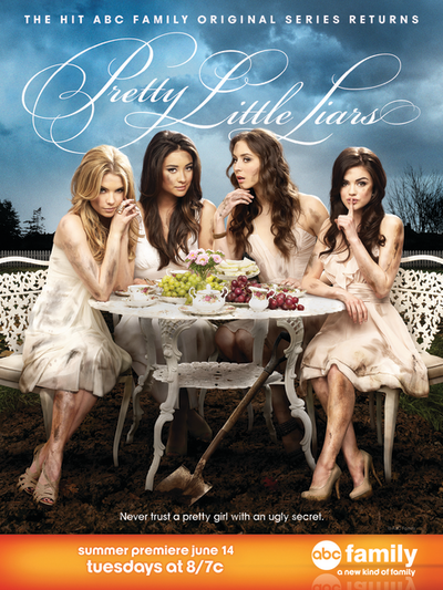 Pretty Little Liars Season 2 Poster