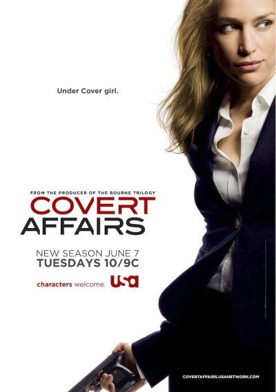 Covert Affairs Season 2 Poster