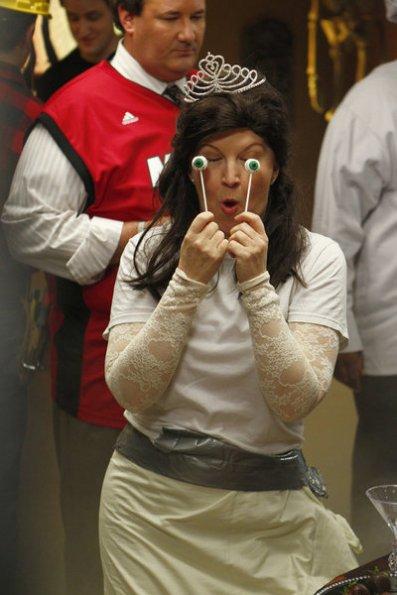 Meredith on Halloween