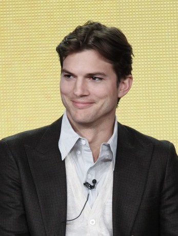 Ashton Kutcher at the TCAs