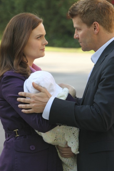 Booth, Brennan and Baby