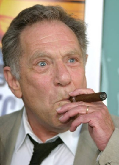 George Segal and His Cigar