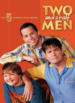 Two and a Half Men Season 5 DVD Cover