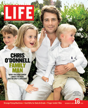 Chris O'Donnell, Family Man